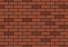 Gratis Brown Brick Wall Vector