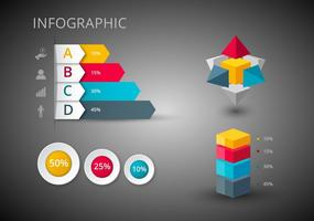 Gratis Infographics Design Vectors