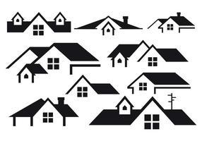 Vettore gratuito di tetti