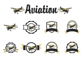 Gratis Avion Vector