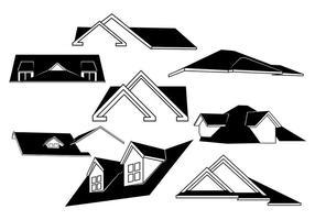 Vecteur de toits gratuit