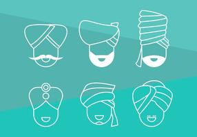 Free Turban Vector Grafik 1