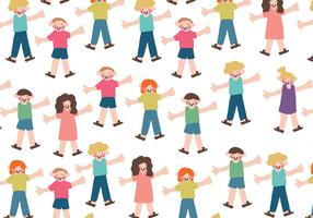 Vector Children Pattern