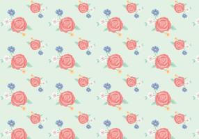 Vintage Flowers Pattern vector