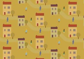 City Streets Pattern vector
