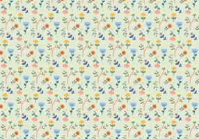 Pastel patrón de flores