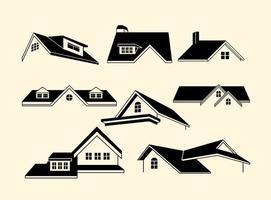Vecteurs de toit gratuits