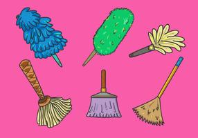 Various Feather Duster Vector