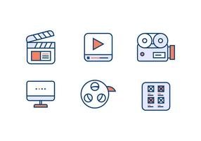 VIDEO EDITING VECTOR