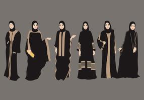 Abaya Vektor