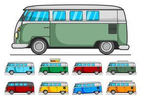 VW Camper Vector Pack