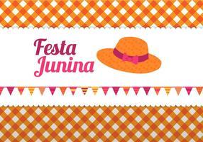 Vecteur junina festa gratuite