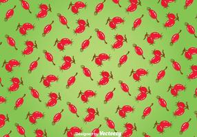 Rosehip Green Background