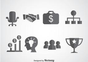 Business Startup Pictogrammen Vector