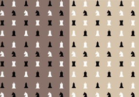 Gratis Chess Mönster Vector