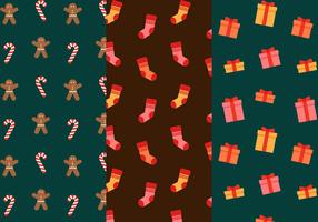 Vector libre de patrón de Navidad