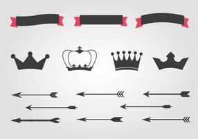 Free-crowns-and-arrows-vector