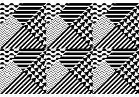 Patrón transparente Bauhaus