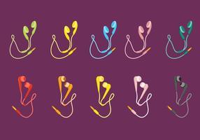 Auriculares libres 2 vector