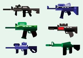 Laser Tag Army Vector