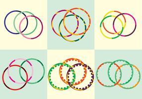 Vetor hula hoop