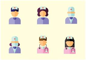Krankenschwester Vektor