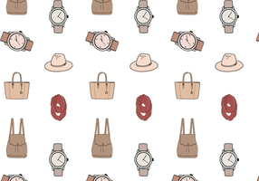 Gratis Fashion Pattern Vector