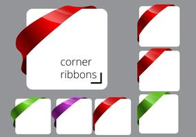 Free Corner Ribbon Vectors