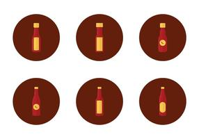 Free Hot Sauce Bottle Icon