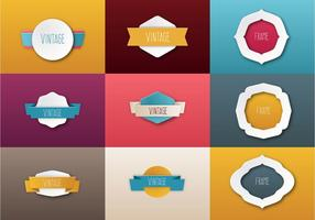 Free Papper Ribbon Vector