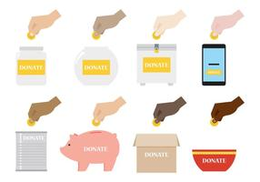 Donate Illustratie