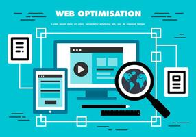 Fond d'écran du Web Optimization gratuit