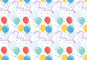 Free Balloons Pattern #5 vector
