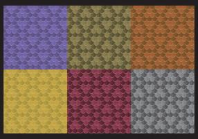 Rainbow Snake Skin Patterns  vector