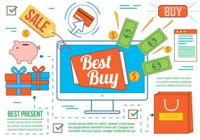 Vecteur Best Buy gratuit