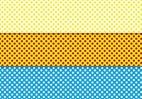 Free Polka Dot Background Vector