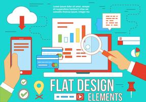 Gratis Flat Design Vector Elements