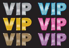 VIP-ikon vektorer