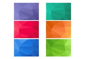 Gratis Polygon Bakgrund Vector