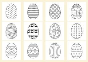 Colorant les oeufs de Pâques