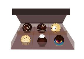 Box of Truffles Vector