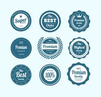 Free Retro Vintage Badges Vector