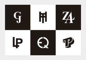 Moderne Monogrammen
