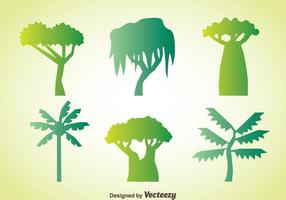 Vector de collection d'arbres