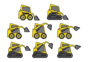 Gratis Skid Steer Vector