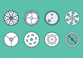 Free Clock Parts Vector Graphic 4