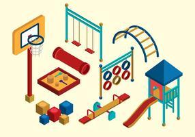 Isometric Kids Playground