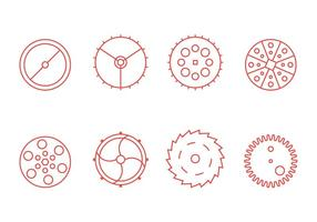 Free Clock Parts Vector Graphic 3