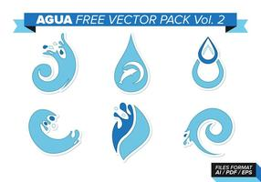 Agua Gratis Vector Pack Vol. 2
