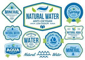 Vector de água grátis
